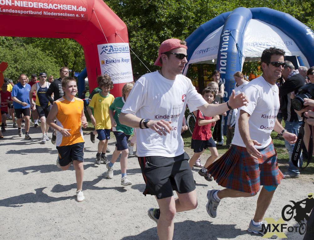 Benefizlauf Sportler 4 a children World – 24h rund um den Rubbenbruchsee